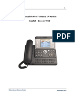 Manual de Usuario - Telefonia IP - Alcatel - Lucent 4068 - Sin Clave