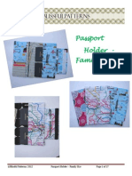 Passport Travel Holder