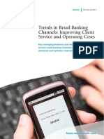 Trends in Retail Banking Channels Improving Client Service and Operating Costs