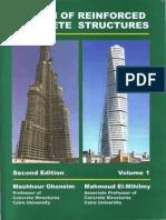 Design of Reinforced Concrete Structures Vol01-Mashhour Ahmed Ghoneim 2008