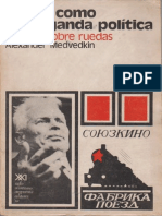 Medvedkin Alexander El Cine Como Propaganda Politica 294 Dias Sobre Ruedas Siglo XXI Ed 1973