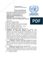 Fruitful Consultations in Mogadishu Over Somalia's Draft Political Parties Law