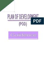 POD Guidence