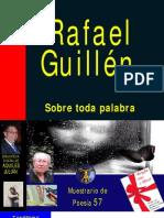 SOBRE TODA PALABRA, ANTOLOGÍA DE RAFAEL GUILLÉN