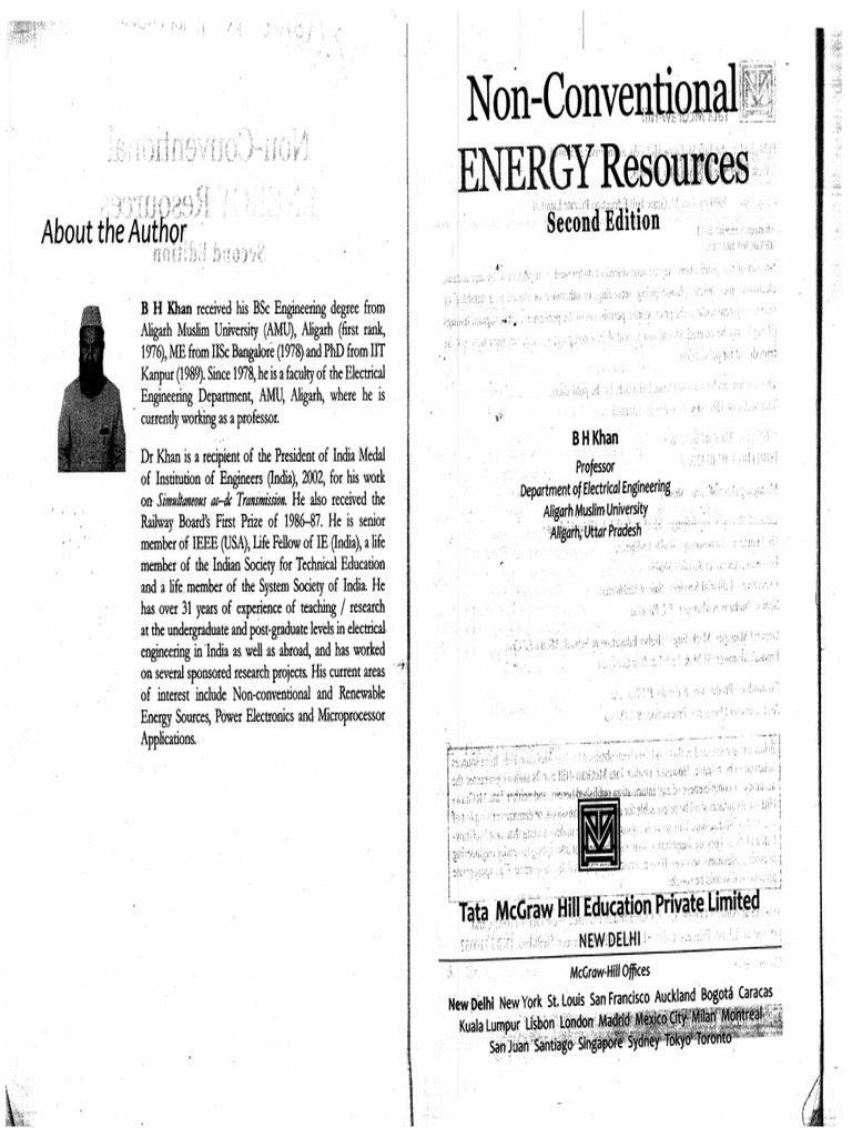 Energy non bh khan sources pdf conventional