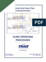CCPP Plant Operating Procedures