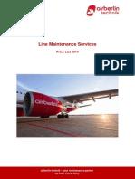 ABT - Price List - Line Maintenance - 26th February 2014 Web