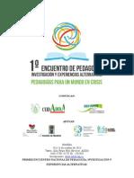 Encuentro Nacional de Pedagogia 2013