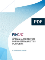 Goyder Gibbs 2011 - Optimal Architecture for Modern Analytics Platforms