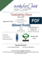 Mini Newsletter 124