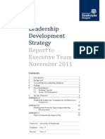 Leadership Development Strategy