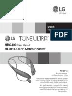 Headphone Manual