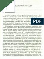 Liva-Bacci (2003) Introducción a La Demografía, Cap 1