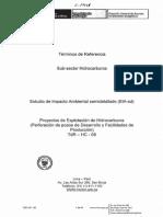 TdR-HC-08 EIA-sd Explotacion de Hidrocarburos (Desarrollo y