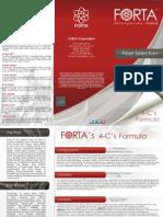 FORTA - Product Family 4Cs