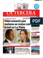 Diario La Tercera 24.11.2015