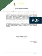 1. Política SGI