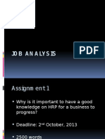 Job Analysis1 ppt presentation