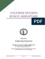 Polymer Housed Surge Arrestors