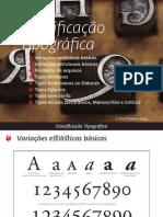 Classificação Tipográfica v2.1 Beta