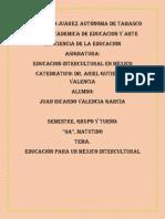 18. Educación Para Un México Intercultural