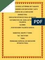20. Programa Especial de Educación Intercultural