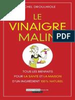 Le Vinaigre Malin