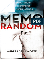 MemoRandom by Anders de la Motte - Extract