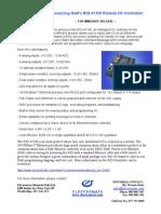Galil RIO Controller Press Release