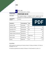 Pentane6040 Data Sheet-Shell Chemicals