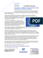 Nippon Pulse Motor PRO Series Press Release
