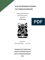 Analisis Dua Titik Dengung di Kampus Institut Teknologi Bandung (ITB)