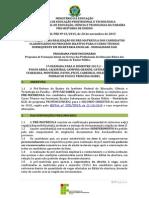 EDITAL PRE No 63-2015_1a Chamada_PRE-MATRICULA_Tec.secretaria Escolar_2015.2 -Via Edital 125-2015