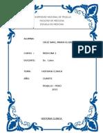 Historia Clinica Dr Clavo