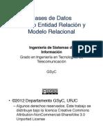 10 BBDD Modelos ER y Relacional