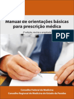 Cartilha Prescricao Medica 2012