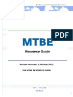 MTBE Resource Guide Pubefoamtbe