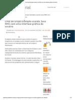 Chat de Grupo Exemplo Usando Java RMI Com Uma Interface Gráfica Do Usuário