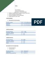 Hematología General Pediatría