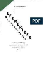 Cuaderno 41. Efemérides nuevoleonesas