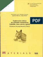 Exploracion Clinica de Animales Domésticos (Santiago Lavin)