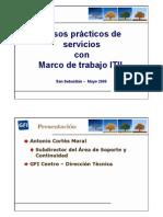 Casos Practicos de Servicios Con Marco de Trabajo ITIL