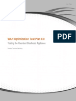 WAN Optimization Test Plan 8.0