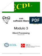 Dispensa OpenSource 3 Word Processing