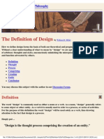 What is Design - Miller