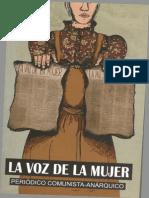 Periodico La Voz de La Mujer