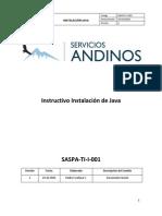 Instructivo Instalnnación de Java