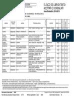 Libri Di Testo 2014-2015 Sede Di Casarano
