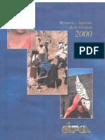Memoria Cipca 2000