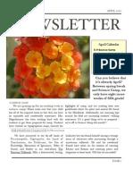 Newsletter April 10
